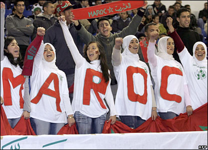 ladies-at-moroccan-soccer-match